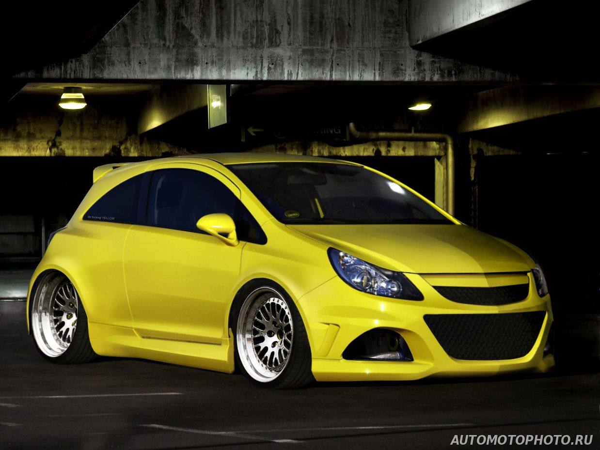 wide body kit for opel corsa d photo