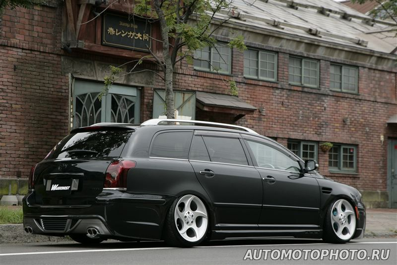 tuning toyota avensis t25 wagon pictures. Black Bedroom Furniture Sets. Home Design Ideas