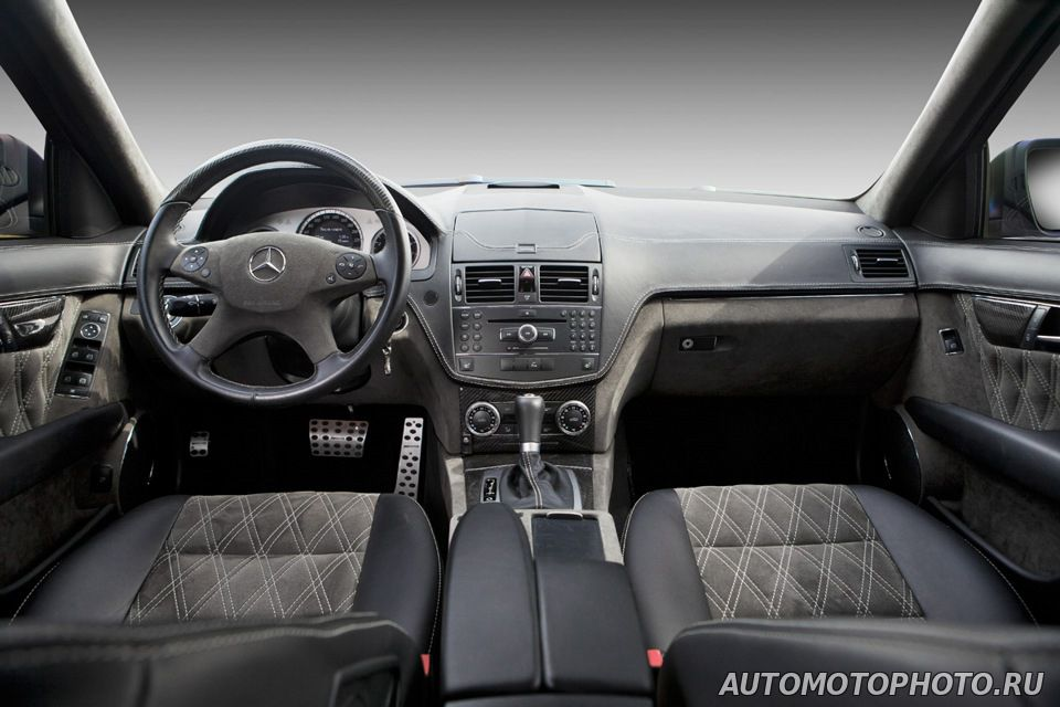 Mercedes w204 custom interior photo pictures for Interieur w204