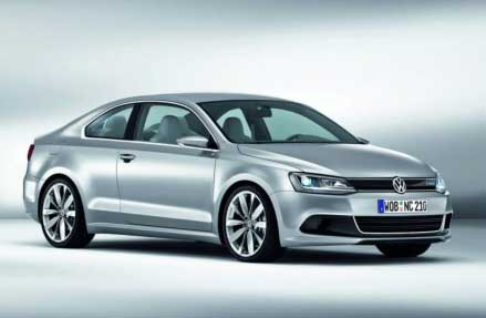 VW New Compact Coupe Concept 11 10 2010